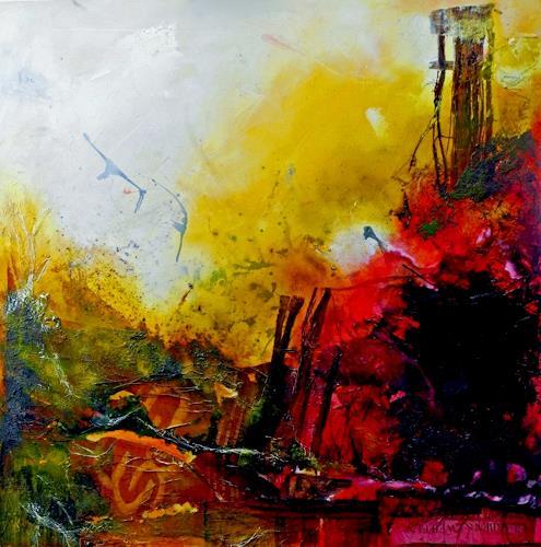 Detlev Eilhardt, Glaube und Zweifel, Abstract art, Belief, Abstract Expressionism