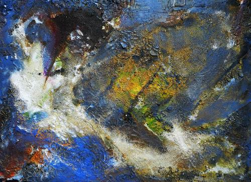Detlev Eilhardt, Randgebiet, Abstract art, Miscellaneous Landscapes, Abstract Expressionism