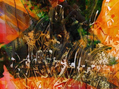 Detlev Eilhardt, Taumel, Fantasy, Emotions: Joy, Pop-Art, Abstract Expressionism