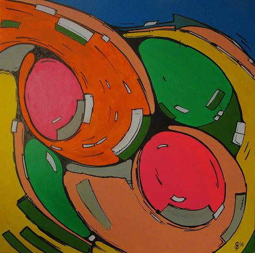 Detlev Eilhardt, Freidrehen, Movement, Symbol, Expressionism