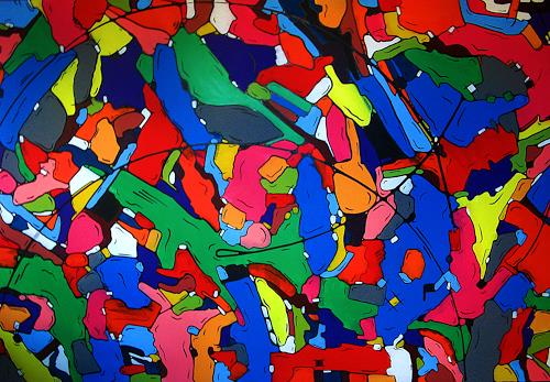 Detlev Eilhardt, plastic carnival, Carnival, Movement, Pop-Art, Abstract Expressionism