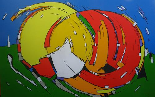 Detlev Eilhardt, PROMINENT PAPER, Movement, Abstract art, Pop-Art, Abstract Expressionism