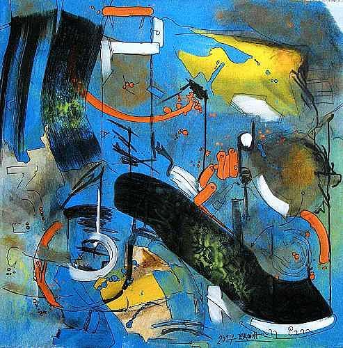 Detlev Eilhardt, Das kann uns keiner nehmen, Fantasy, Abstract art, Abstract Expressionism