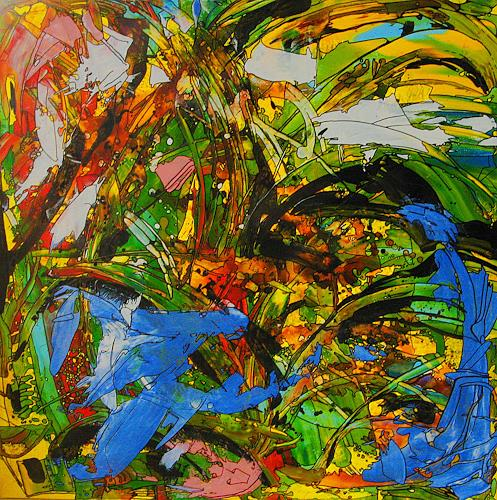 Detlev Eilhardt, MOVE, Nature: Miscellaneous, Movement, Abstract Expressionism