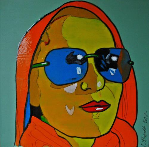 Detlev Eilhardt, AU PORT, People: Women, People: Portraits, Pop-Art