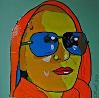 Detlev-Eilhardt-1-People-Women-People-Portraits-Modern-Age-Pop-Art