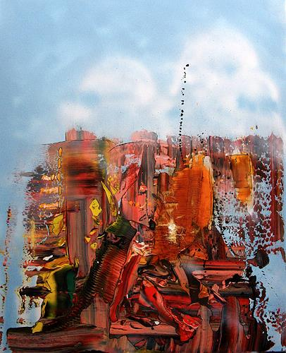 Detlev Eilhardt, WAKE UP, Miscellaneous Landscapes, Burlesque, Abstract Expressionism