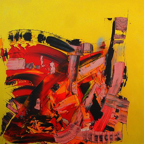 Detlev Eilhardt, JUMBLE, Abstract art, Movement, Abstract Expressionism