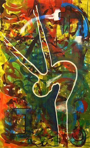 Detlev Eilhardt, Dispersibility, People: Women, Abstract art, Pop-Art, Expressionism