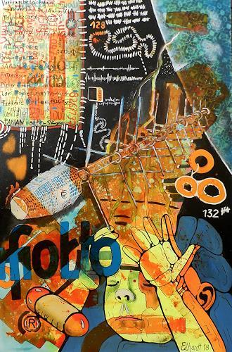 Detlev Eilhardt, molto satellite, Fantasy, Burlesque, Expressive Realism