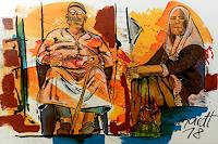 Detlev-Eilhardt-1-Miscellaneous-People-Society-Modern-Age-Expressionism-Neo-Expressionism