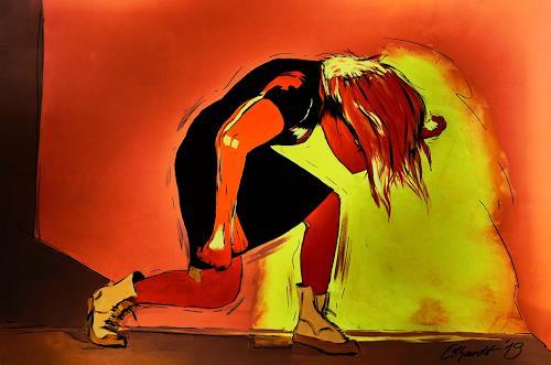 Detlev Eilhardt, rock the scope, People: Women, Movement, Pop-Art