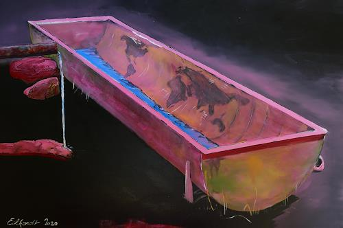 Detlev Eilhardt, Der Trog, Technology, Symbol, Expressive Realism, Abstract Expressionism