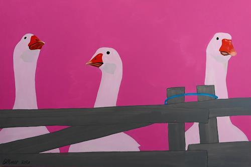 Detlev Eilhardt, GEESE, Animals: Land, Animals: Air, Pop-Art
