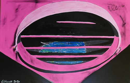 Detlev Eilhardt, stagnant water, Technology, Symbol, Expressive Realism