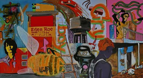 Detlev Eilhardt, VIVE LE BOURDON, Society, Symbol, Pop-Art