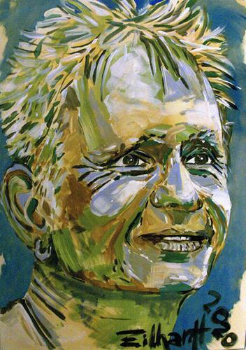Detlev Eilhardt, SELF, People: Men, People: Portraits, Expressive Realism
