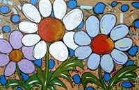 Detlev-Eilhardt-1-Plants-Flowers-Landscapes-Spring-Modern-Age-Pop-Art