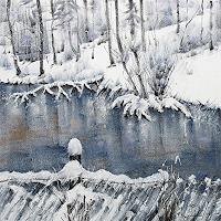 Konrad-Zimmerli-Landscapes-Winter-Nature-Water