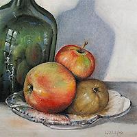 Konrad-Zimmerli-Harvest-Still-life-Modern-Age-Abstract-Art