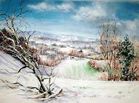 Konrad-Zimmerli-Landscapes-Winter-Nature-Wood-Modern-Age-Abstract-Art
