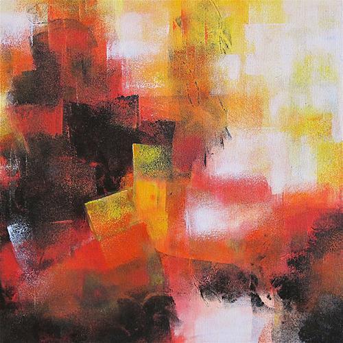 Konrad Zimmerli, ohne Titel I, Abstract art, Decorative Art, Abstract Art