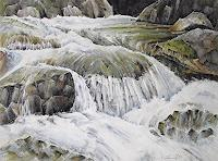 Konrad-Zimmerli-Nature-Water-Landscapes-Mountains-Modern-Age-Abstract-Art
