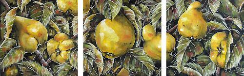 Konrad Zimmerli, Trilogie, Harvest, Meal, Naturalism, Expressionism