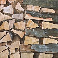 Konrad-Zimmerli-Nature-Wood-Plants-Trees-Modern-Age-Naturalism
