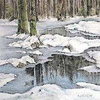 Konrad-Zimmerli-Landscapes-Winter-Nature-Water-Modern-Age-Abstract-Art