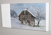 Konrad-Zimmerli-Buildings-Houses-Landscapes-Winter