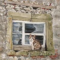 Konrad-Zimmerli-Animals-Miscellaneous-Modern-Age-Abstract-Art