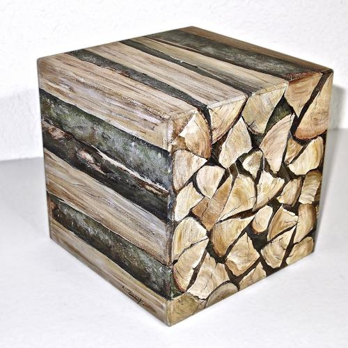 Konrad Zimmerli, 1 Ster, Plants: Trees, Nature: Wood, Naturalism, Expressionism