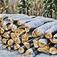 Konrad-Zimmerli-Landscapes-Winter-Nature-Wood-Modern-Age-Naturalism