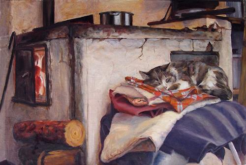 Olga, the Princess and the Pea, Interiors: Villages, Animals: Land, Expressionism