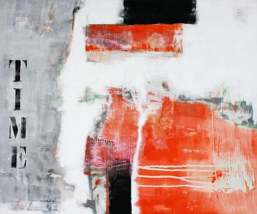 Christa Hartmann, Time, Abstract art, Fantasy, Modern Age, Expressionism