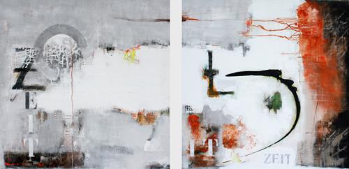 Christa Hartmann, Zeit, Movement, Abstract art, Abstract Art