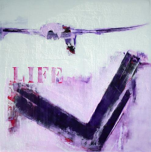 Christa Hartmann, Life, Fantasy, Abstract art, Contemporary Art