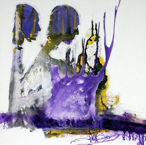 Christa Hartmann, PRO ET CONTRA  -  Für und wieder, Abstract art, Fantasy, Contemporary Art, Abstract Expressionism