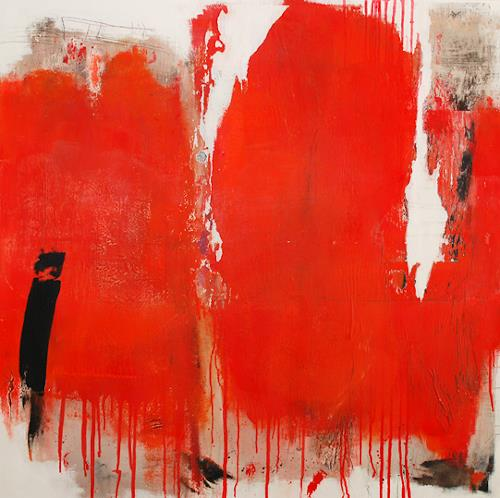 Christa Hartmann, HAPPY, Abstract art, Fantasy, Modern Age, Abstract Expressionism