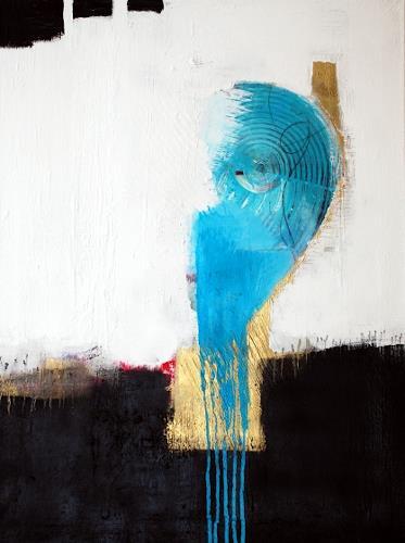 Christa Hartmann, Gedankenwelt, Abstract art, Fantasy, Modern Age, Abstract Expressionism
