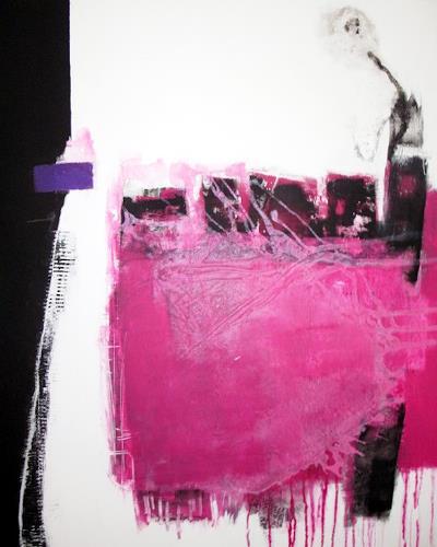 """Christa Hartmann,  AD INFINITUM """" / Bis ins Unbegrenzte, Abstract art, Fantasy, Modern Age"""
