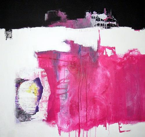 Christa Hartmann, N/T, Abstract art, Fantasy, Modern Age, Abstract Expressionism