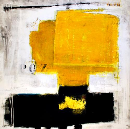 Christa Hartmann, SO ODER SO, Abstract art, Fantasy, Modern Age, Abstract Expressionism