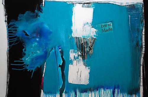 Christa Hartmann,  ZEIT IST MACHT , Abstract art, Fantasy, Modern Age, Expressionism