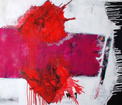 Christa Hartmann, N/T, Abstract art, Fantasy, Abstract Expressionism