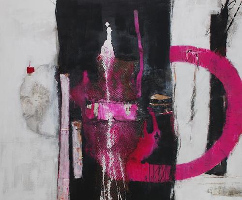 Christa Hartmann,  Zum Sehen geboren , Abstract art, People: Models, Abstract Expressionism
