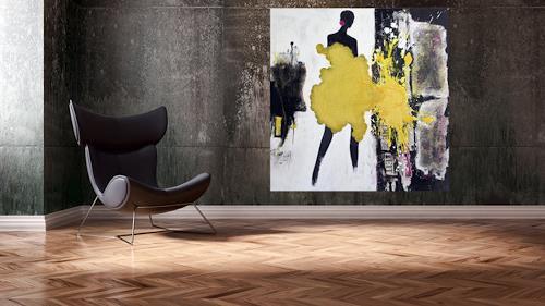 Christa Hartmann, Die Leichtigkeit des Seins, Abstract art, Fantasy, Impressionism, Abstract Expressionism
