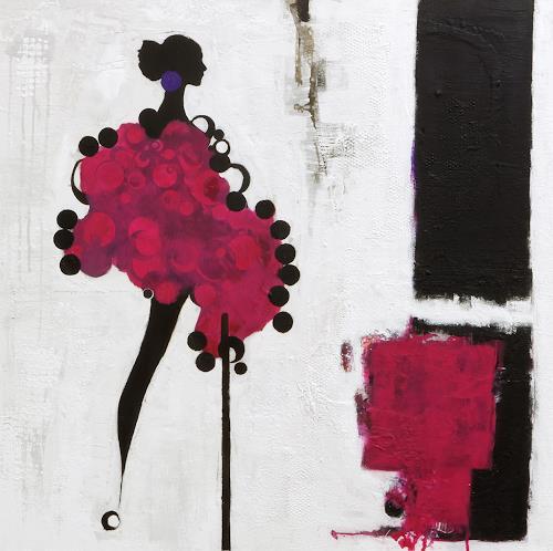 Christa Hartmann, Die Leichtigkeit des Seins, Abstract art, Decorative Art, Abstract Expressionism