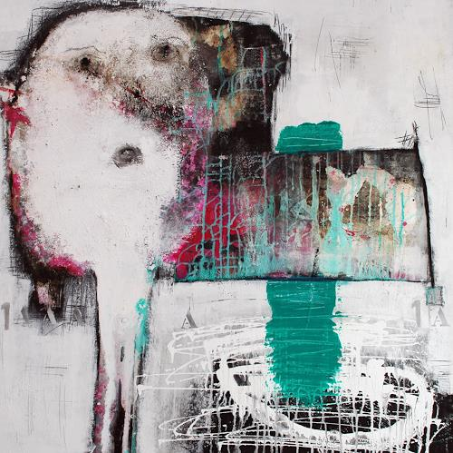Christa Hartmann,  Zum Schauen bestellt , Abstract art, Fantasy, Abstract Expressionism